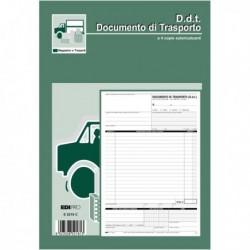 Blocco DDT 29.7x21 cm da 25 Fg. a 4 copie Autoricalcanti E5218C EDIPRO