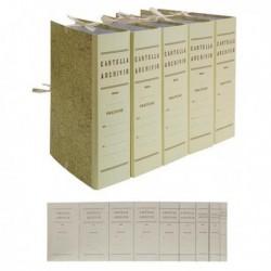 Faldone con legacci Juta 35x25 cm dorso 10 cm Cartella 35x25 cm (conf. 25 Pz)