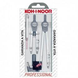 Compasso Professional 155 mm. KOH.I.NOOR H9222N 5 pezzi