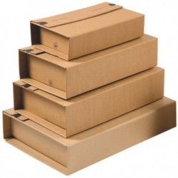 Scatola postale fustellata Unipac A3 455x320x70 mm. COLOMPAC CP020.18 (20 Pz)