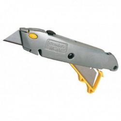 Taglierino Cutter Professionale STANLEY 499 con lame a trapezio