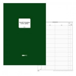 Blocco Registro CORRISPONDENZA ARRIVO / PARTENZA da 500 Pag. 31x24.5 cm E2815