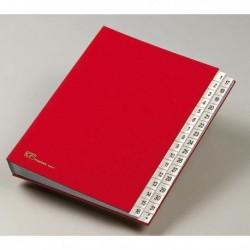Classificatore Cartella Monitore Numerico 1/31 643-D ROSSO 24x34 cm.