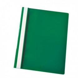Cartellina Portadocumenti PPL con fermafogli 21x29.7 VERDE Report File (25 Pz)