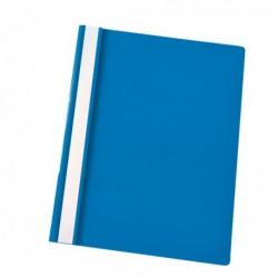 Cartellina Portadocumenti PPL con Fermafogli 21x29.7 AZZURRO Report File (25 Pz)