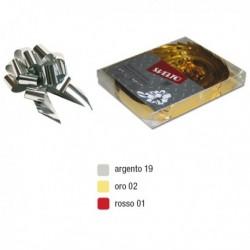 Scatola Nastro Fiocco Regalo Svelto Strip Reflex 48 mm. ORO 12 BOLIS (30 Pz)
