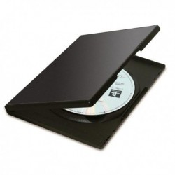 Custodia per CD / DVD slim doppia NERA 9834001 FELLOWES (10 Pz) Jewel Case