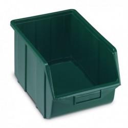 Vaschetta Ecobox 114 VERDE TERRY in PPL
