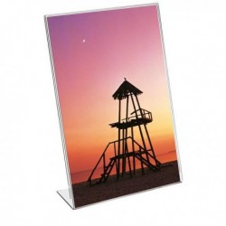 Portadepliant porta brochure in Acrilico 21x30 cm. LEBEZ 7098