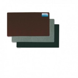 Sottomano scrivania Durella NERO 40x53 cm Laufer LEBEZ 40536