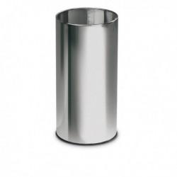 Portaombrelli tondo INOX H 49 cm in metallo STILCASA