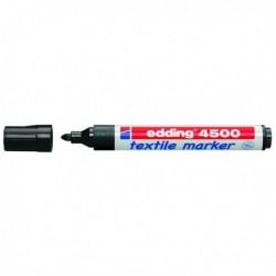 Marcatore EDDING 4500 NERO PT 2-3 mm. per TESSUTO Marcatore per tessuto