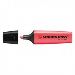 Evidenziatore Stabilo Boss Original ROSSO 2-5 mm - 70/40 (conf. 10 Pz)