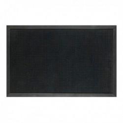 Tappeto in gomma Roller NERO 46x70 cm. - VELCOC