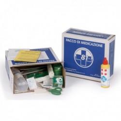 Pacco Reintegro cassette Pronto Soccorso Kit fino a 2 persone PVS PDM090