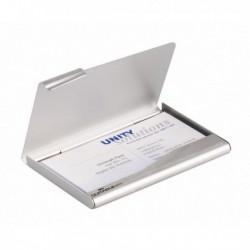Porta biglietti visita in alluminio Business Card Box DURABLE