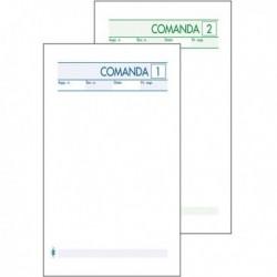 Blocco Comande 25 Fg. a 2 Copie Autocopiante 10x17. BM 511/2 (conf. 10 Pz)
