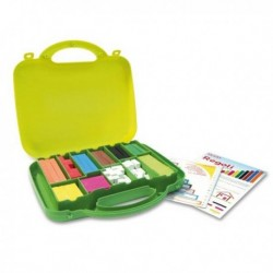 Valigetta 200 regoli - numeri in colore ARDA 121 per l'apprendimento dei colori