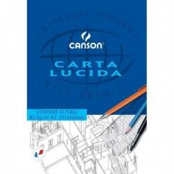 Blocco carta lucida manuale 297x420 mm. 10 Fg. 80 gr. CANSON (10 Pz)