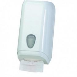 Dispenser carta igienica in fogli BIANCO - MAR PLAST A62011. Dispenser murale