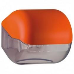 Dispenser carta igienica ORANGE Soft Touch MAR PLAST A61900AR. Adatto per carta