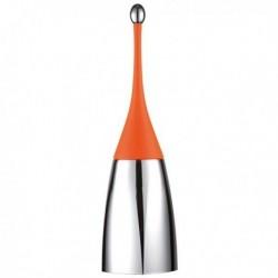 Portascopino ORANGE Soft Touch per bagno, da appoggio a terra MAR PLAST