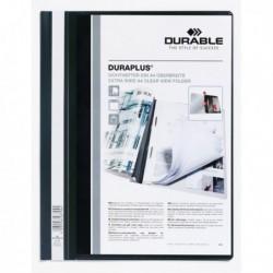 Cartellina A4 ad aghi personalizzabile NERO - Duraplus DURABLE 2579 (25 Pz).
