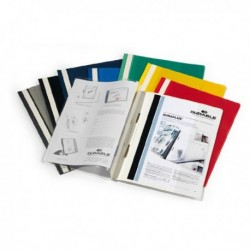 Cartellina A4 ad aghi personalizzabile BIANCO - Duraplus DURABLE 2579 (25 Pz).