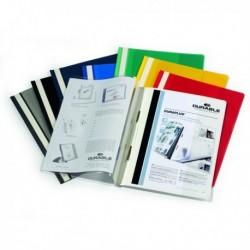Cartellina A4 ad aghi personalizzabile BLU - Duraplus DURABLE 2579 (25 Pz).