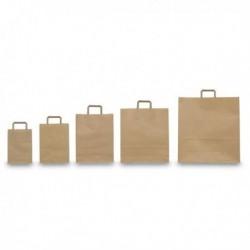 Scatola 350 Shoppers Buste 22 x 10 x 29 cm AVANA Neutro. Piattina in Kraft AVANA