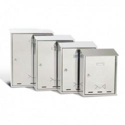 Cassetta Postale con serratura 27.5x35x12 cm. Inox serie Elios METALPLUS 3100X/2