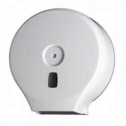 Distributore Carta Igienica in Rotoli Minijumbo Bianco Basic in ABS.