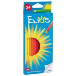 Astuccio Pastelli Elios Fila 273600 - 2.8 mm - da 3 anni in poi - (24 Pz)