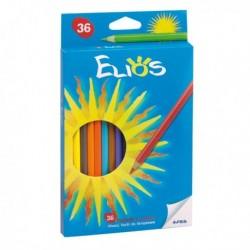 Astuccio Pastelli Elios Fila 273900 - 2.8 mm - da 3 anni in poi - (36 Pz)