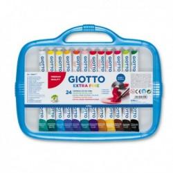 Box Tubetti tempera GIOTTO - 12 ml - assortiti - 305000 (24 Pz) ultrafine