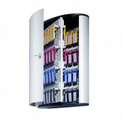 Cassetta portachiavi Key Box Code - ARGENTO METAL - 30.2x40x11.8 cm - 72 posti.