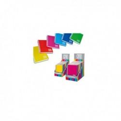 Expo 14 Miniquaderni Spiralati PPL A6 12x17 cm Mix 6 colori One Color BLASETTI.