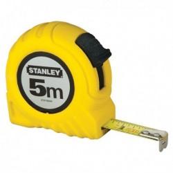 Flessometro 5 Mt. Metallo/ABS STANLEY M30497. Flessometro da 5 metri.