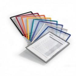 Confezione Pack 5 Pannelli Sherpa Blu per Leggii Vario DURABLE 5606-07