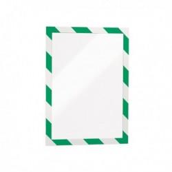Confezione 2 Cornice Autoadesiva Verde/Bianco DURABLE 4944-131