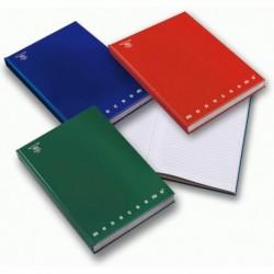 Quaderno A5 Cartonato 60 Fg. da 80 gr. 5 mm MONOCROMO PIGNA (5 Pz)