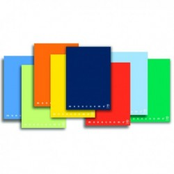 Quadernone MONOCROMO PIGNA - A4 - 40 Fg. 80 gr. 2 colonne (10 Pz)