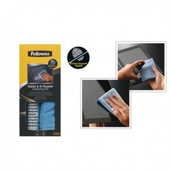 Kit pulizia Tablet e E-reader con panno 120 ml. FELLOWES 9930501. Spray di puliz