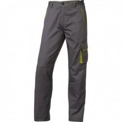 Pantalone da Lavoro M6Pan GRIGIO/VERDE Tg. XL Panostyle DELTAPLUS. Pantalone da
