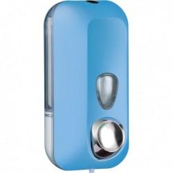 Dispenser Sapone Liquido 0.55 Lt. Azzurro Soft Touch MARPLAST. Dispenser a riemp