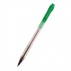 Penna Sfera a scatto BPS Matic Pilot - VERDE - 0.7 mm - 001624 (conf. 12 Pz)