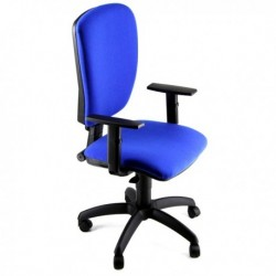 Sedia Operativa Con Braccioli.Sedia Operativa Cluster A Blu Con Braccioli Unisit
