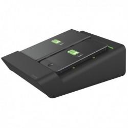 Caricatore Duo LEITZ Complete - NERO - Carica contemporaneamente 2 smartphone
