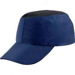 Caschetto anti-urto BLU tipo baseball Coltan DELTAPLUS. Caschetto anti-urto tipo