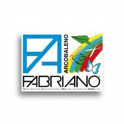 Album arcobaleno (240x330 mm) 10 Fg 140 gr - 5 colori - FABRIANO (10 Pz)